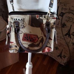 Singare | Tapestry Crossbody Bag